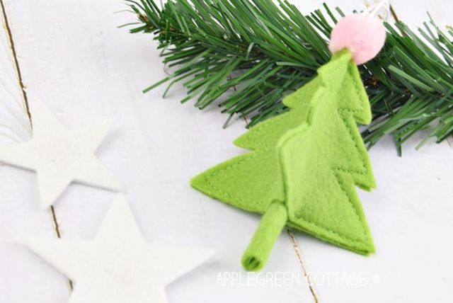 christmas tree ornament diy