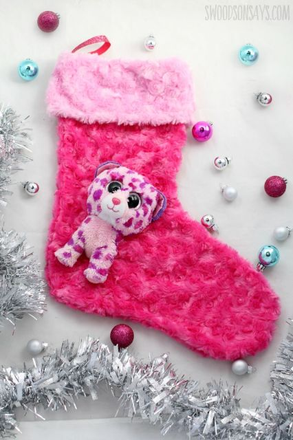 diy chenille stocking pattern