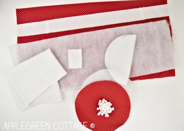 Santa bag sewing instructions