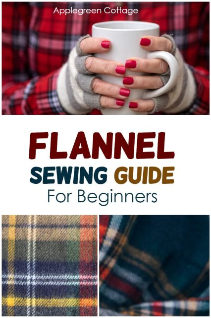 sewing with flannel