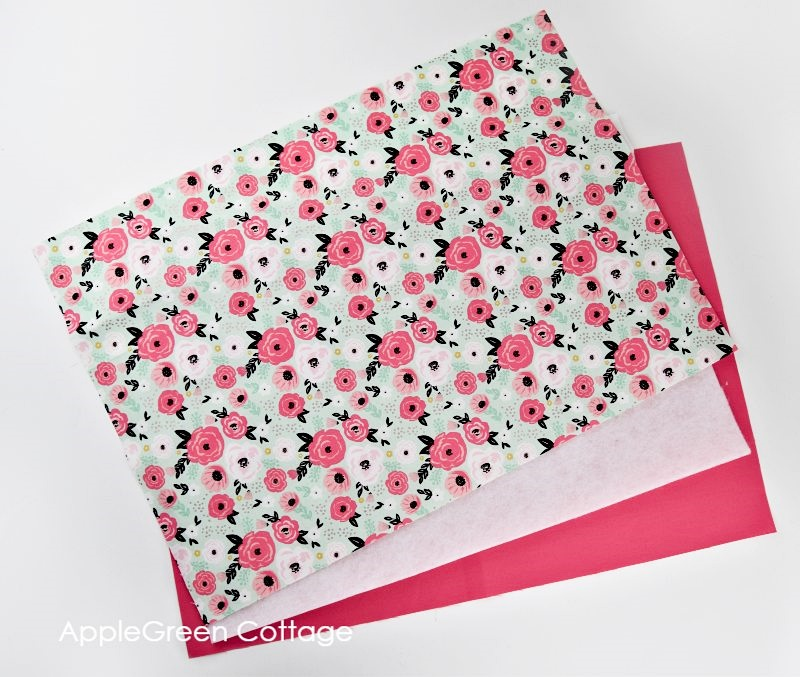 how to make a placemat from fabric