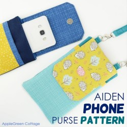 Aiden Phone Purse Pattern
