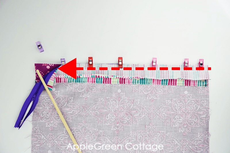 how to sew a storage bag