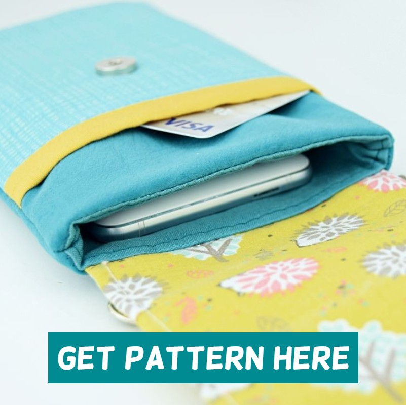 crossbody cell phone purse pattern