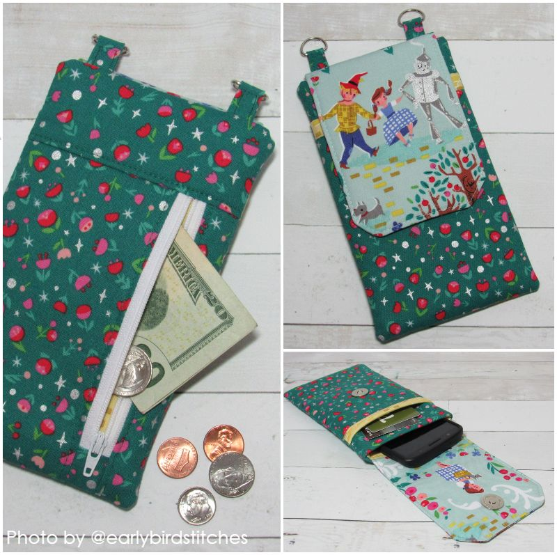 diy fabric phone case