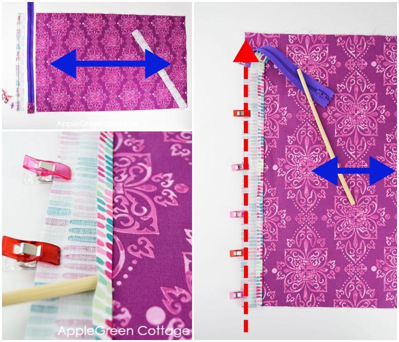sewing diy storage bag