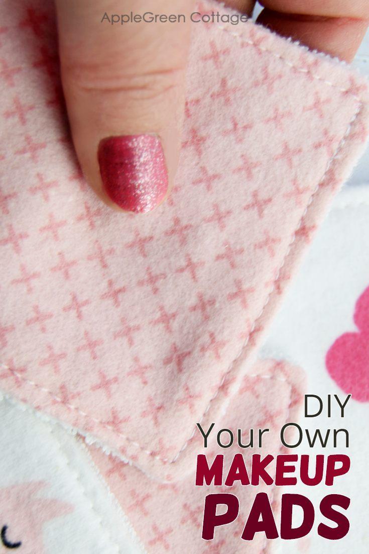 DIY sewing tutorial: Fabric makeup remover pads