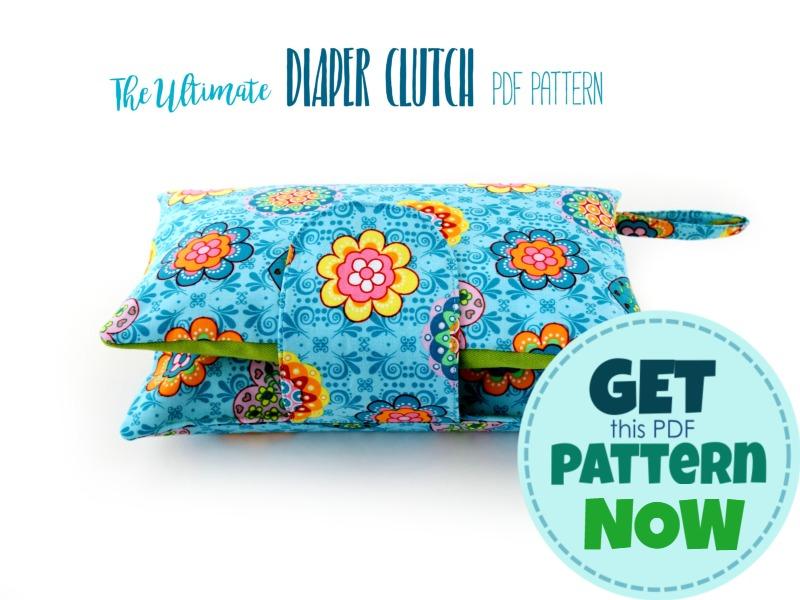 buy diaper clutch pattern