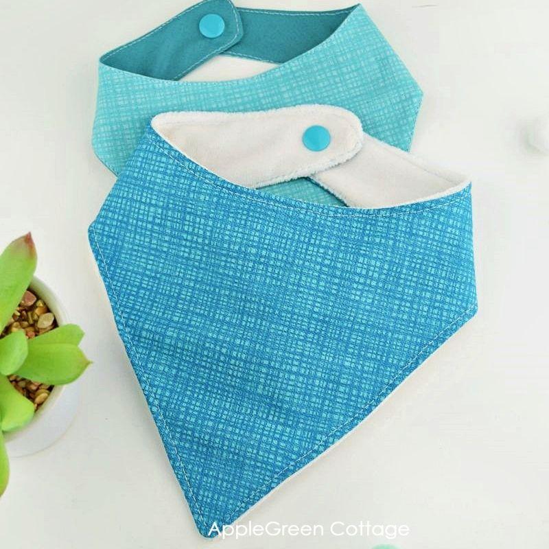 bandana bib pattern