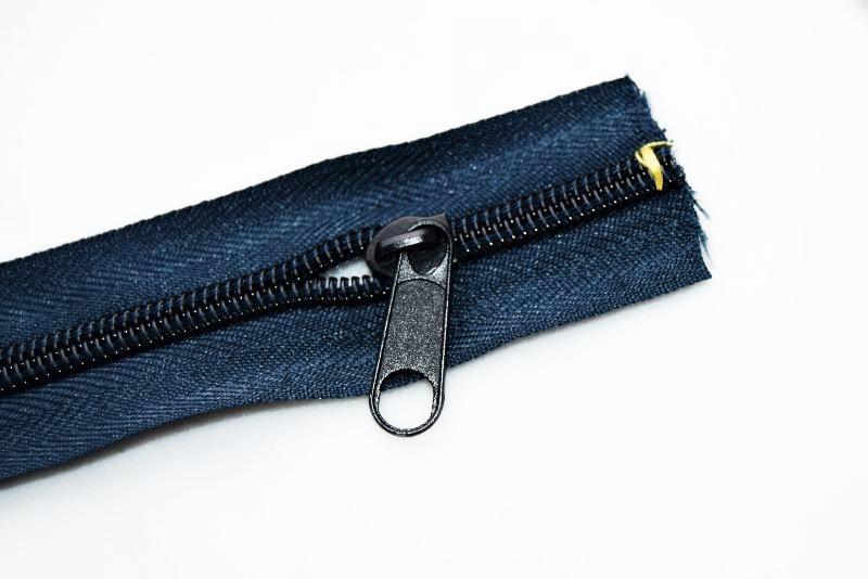 how to add zipper for zipper pouch
