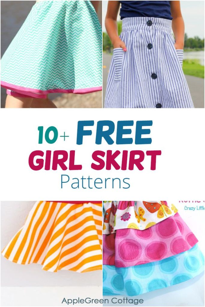 10+ Adorable Little Girl Skirts To Sew Now