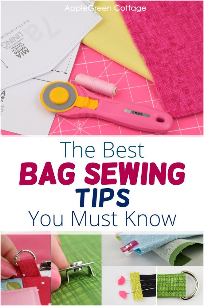 Sewing Bags – THE Bag Sewing Tips You Should Know