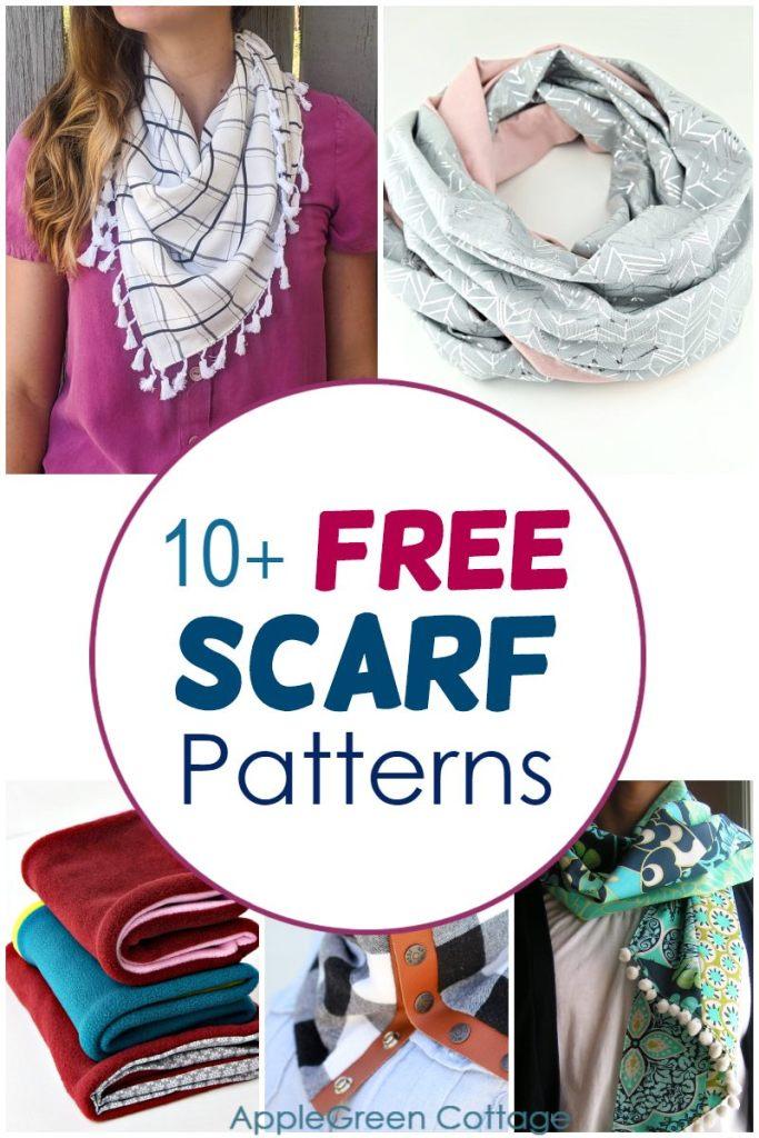10+ Free Scarf Sewing Patterns