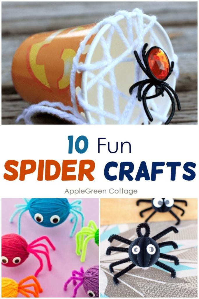 10 Awesome Spider Crafts for Kids to Make