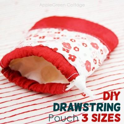 drawstring pouch pattern free