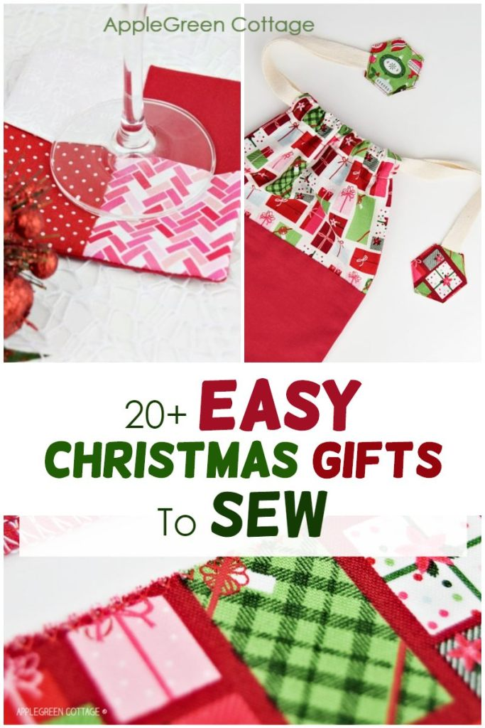 diy christmas gifts to sew