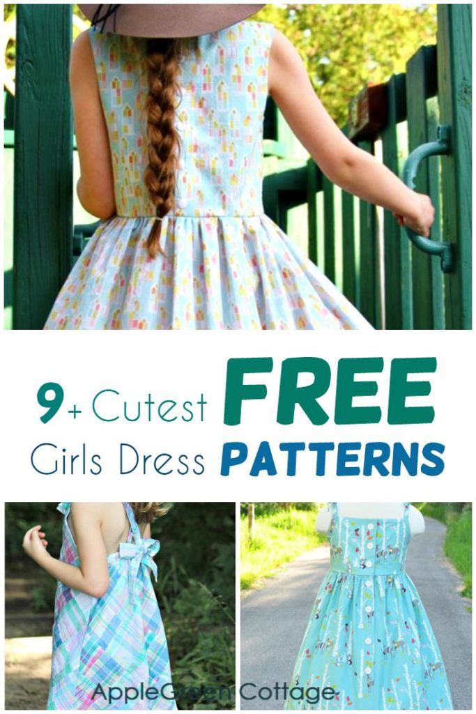 9 Free Girls Dress Patterns That Will Become Your Favorites!