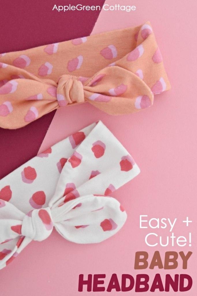 how to make a baby headband