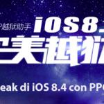 Guida: come eseguire li Jailbreak di iOS 8.4 con PPGhost di PP25