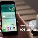 Come installare iOS 10 con la prima beta pubblica rilasciata da Apple