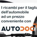 AutoDoc, i ricambi per il tagliando dell'automobile ad un prezzo conveniente