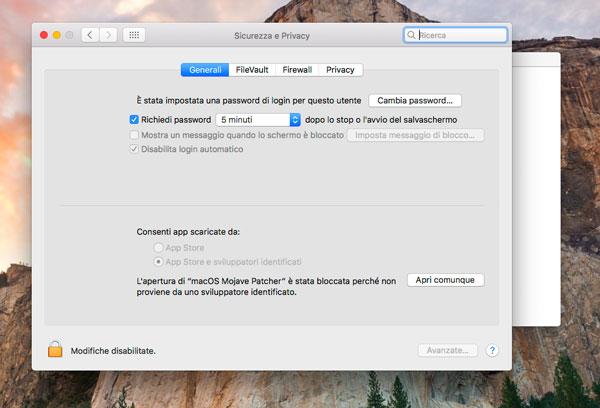 Come creare una chiavetta usb e installare macOS Mojave da zero
