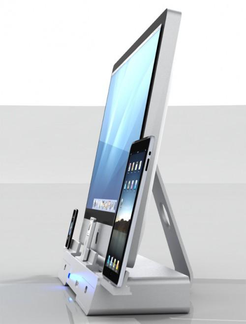 Dock con base per iMac