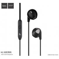 HOCO stylová sluchátka s mikrofonem pro Apple iPhone / iPad / iPod - černá