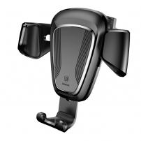 BASEUS gravitační držák do auta pro iPhone - černý