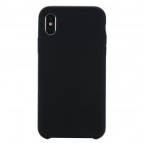 Liquid silikonový kryt pro iPhone XR - černá