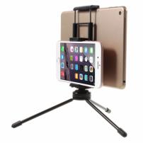 Multifunkční stojánek / tripod pro dvě zařízení - smartphone / tablet - černý