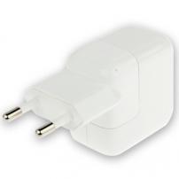 Nabíječka / adaptér 10W s EU zástrčkou (A1401) pro Apple iPhone / iPad / iPod - bílá – TOP kvalita