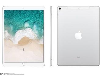 koncept 10,5palcového iPadu Pro