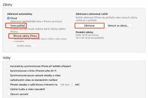 Jak zálohovat iPhone, jak připojit iPhone k PC