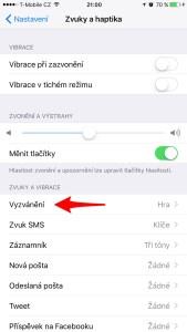 Jak nastavit vlastní vyzvánění na iPhone