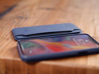 Kožené pouzdro iPhone