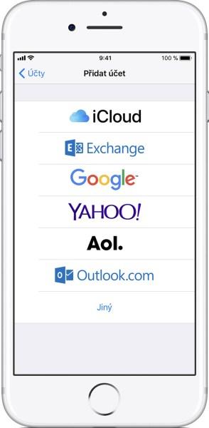 jak nastavit mail na iphone