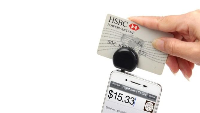 Čítačka platobných kariet pre iPhone