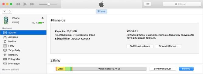 Ako odblokovať iPhone cez iTunes