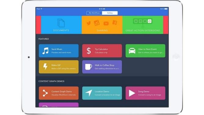 iPad aplikace pro efektivitu práce - WorkFlow