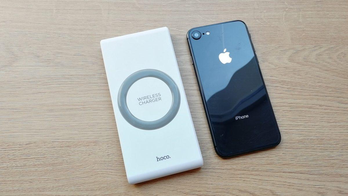 Bezdrátová powerbanka pro iPhone 8