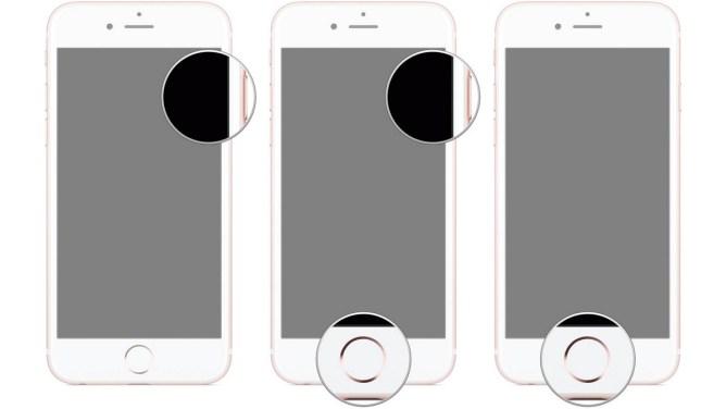 iPhone 6 și 7 - DFU modul