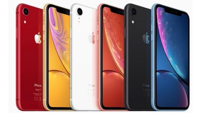 iPhone XR - barvy