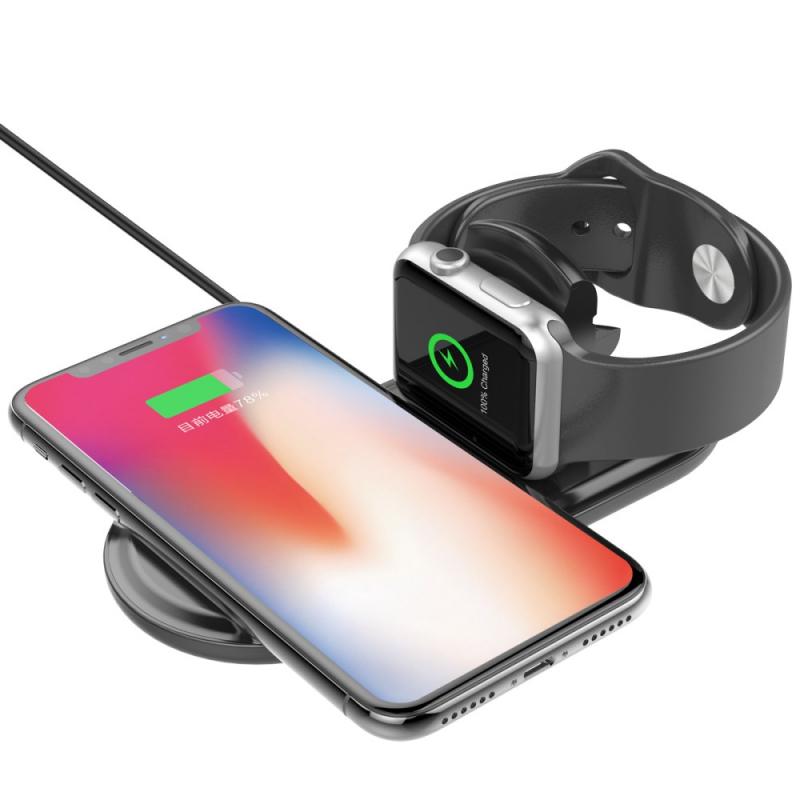 Bezdrátová nabíječka pro iPhone a Watch