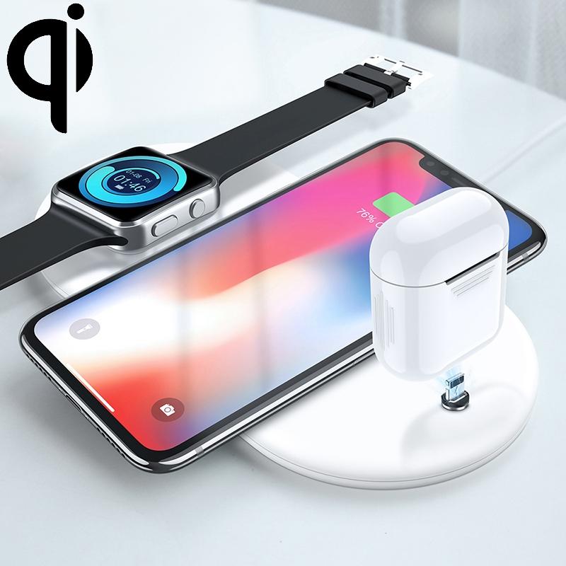 Bezdrátová Qi nabíječka pro iPhone, Watch a AirPods
