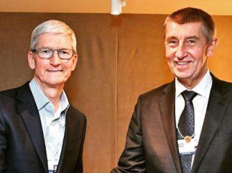 Andrej Babiš prý domlouval s Timem Cookem Apple Store v České republice