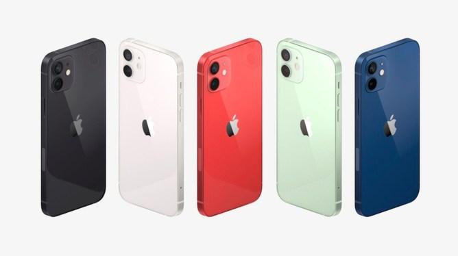 Nový iPhone 12 a jeho barevné varianty