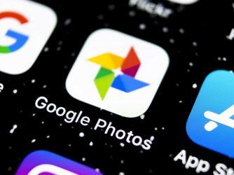 Aplikace Fotky Google na ploše iPhonu