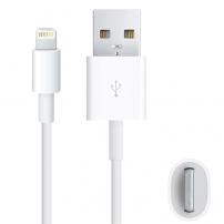 Cablu lightning de sincronizare şi de încărcare, pentru iPhone / iPad / iPod - 1m - alb