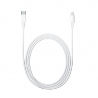 Cablu de sincronizare şi încărcare USB-C / Lightning - 2m - alb